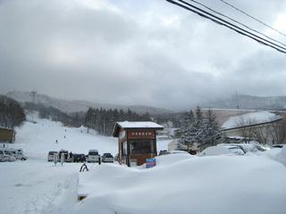 蔵王スキー1日目 蔵王温泉スキー場