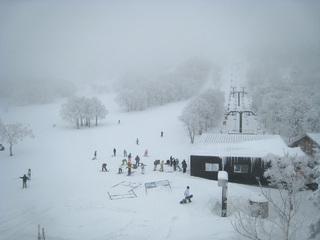 蔵王スキー1日目