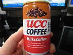 UCC COFFEE ミルク&コーヒー