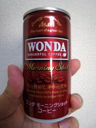 朝専用缶コーヒー ワンダ(WONDA) - モーニングショット