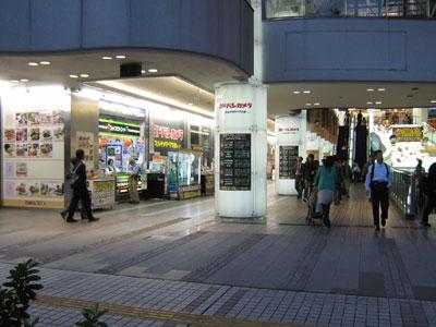 ヨドバシ川崎入り口
