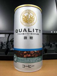 ファミリーマート パッソプレッソ クオリティー 微糖 - PASSO PRESSO QUALITY