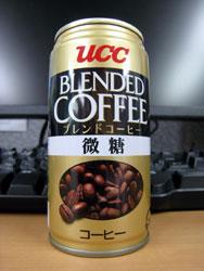 UCC ブレンドコーヒー 微糖 - UCC BLENDED COFFEE