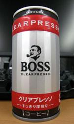 ボス クリアプレッソ すっきり深煎り - BOSS CLEAR PRESSO