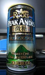 ルーツ ピークアンデス 微糖 - Roots PEAK ANDES