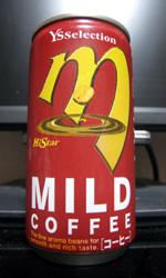 【海外缶コーヒーレビュー】 Y'S Selection m Hi Star MILD COFFEE 【韓国】