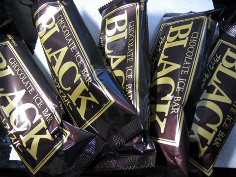 赤城乳業 チョコレートアイス ブラック