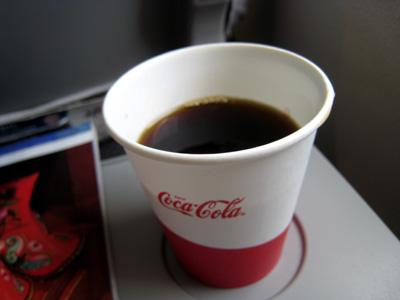 JALの機内コーヒー