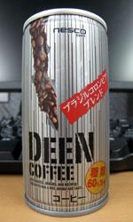【缶コーヒーレビュー】 ネスコ DEEN COFFEE 糖類60%カット - nesco