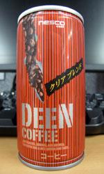 【缶コーヒーレビュー】 ネスコ DEEN COFFEE クリアブレンド - nesco