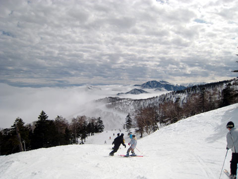 スキー滑走記録2010