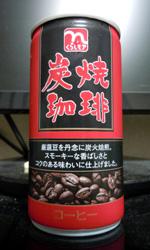 【缶コーヒーレビュー】 くらしモア 『炭焼珈琲』 - 日本流通産業株式会社
