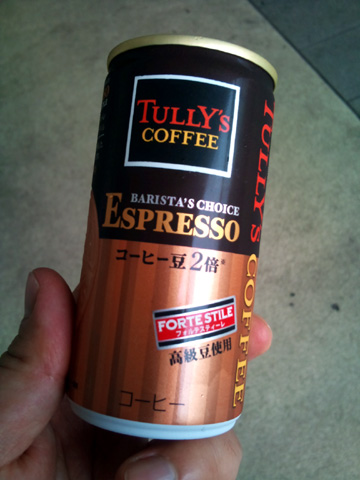 伊藤園 TULLY'S COFFEE BARISTA'S CHOICE ESPRESSO