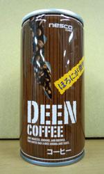 【缶コーヒーレビュー】 ネスコ DEEN COFFEE 『ほろにが微糖』 - nesco