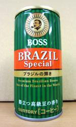 【缶コーヒーレビュー】 BOSS(ボス) 『ブラジルスペシャル』 ブラジルの輝き - サントリー