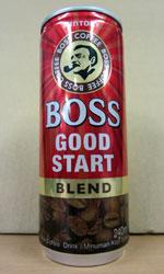 【海外缶コーヒーレビュー】 マレーシア版 BOSS 『GOOD START BLEND』