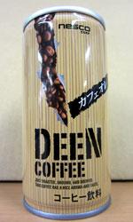 【缶コーヒーレビュー】 ネスコ DEEN COFFEE 『カフェオレ』 - nesco