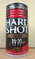 【缶コーヒーレビュー】 ルーツ 『エクスプローラー ハードショット』 旨苦 - JT Roots explorer HARD SHOT