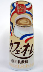 【缶コーヒーレビュー】 チェリオ 『カフェ・オ・レ』