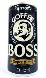【缶コーヒーレビュー】 BOSS(ボス) 『スーパーブレンド』 - サントリー