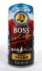 【缶コーヒーレビュー】 サントリー BOSS 『地中海ブレンド』 甘さ控えめアイス専用 2012年版