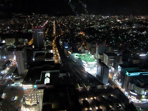 ヨドバシカメラ 札幌 JRタワーの展望台から