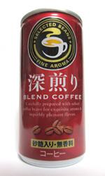 【缶コーヒーレビュー】 ジェイフード 『深煎りブレンドコーヒー』