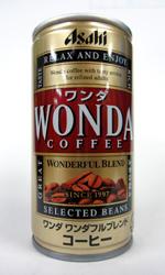 【缶コーヒーレビュー】 ワンダ 『ワンダフルブレンド』 - WONDA