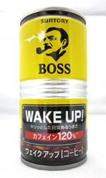 【缶コーヒーレビュー】 サントリー BOSS 『ウェイク アップ』 - WAKE UP!
